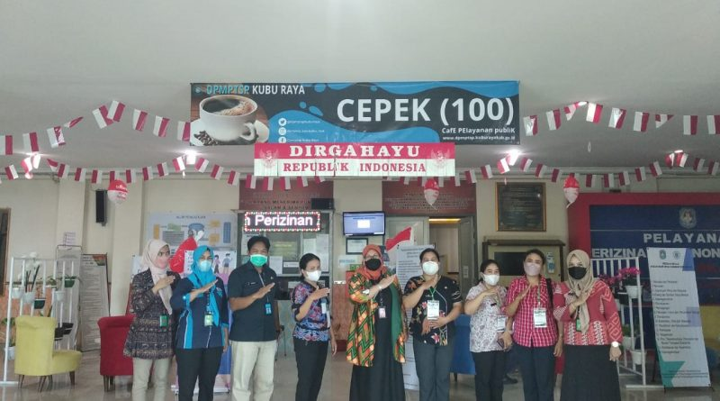 Kunjungan DPMPTSP Kab. Bengkayang